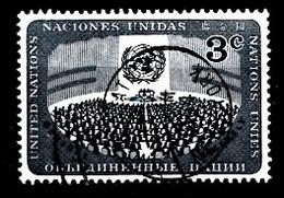 Nations Unies New-York 1956  Mi.Nr: 52 Tag Der Vereinten Nationen  Oblitèré / Used / Gebruikt - New-York - Siège De L'ONU