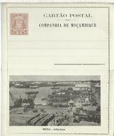 MOZAMBIQUE ENTERO POSTAL BEIRA ALFANDEGA  PUERTO TRANSPORTE - Mozambique