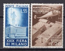 1951 -  Italia - Italy - - Unif.  657/658 - LH - (C17647.21.) - 1946-60: Nuovi