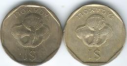 Fiji - 1 Dollar - 1995 - KM73 & 2010 - Figi