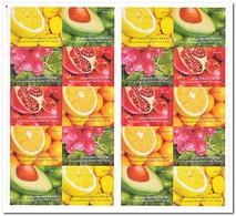 Israël 2009, Postfris MNH, Fruit - Boekjes