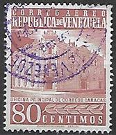 VENEZUELA   -     Aéro   -   Poste De Caracas.   Oblitéré. - Venezuela