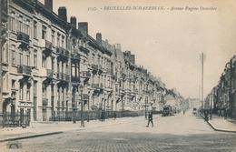 CPA - Belgique - Brussels - Bruxelles - Schaerbeek - Avenue Eugène Demolder - Schaarbeek - Schaerbeek
