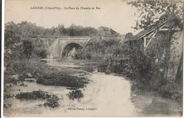 Laignes : Le Pont Du Chemin De Fer - Autres Communes
