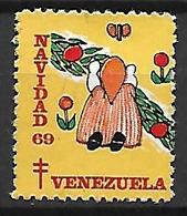 VENEZUELA   -    1969 .  Noël  /  Navidad.   Oblitéré. - Venezuela
