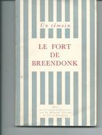Le Fort De Breendonk  Petit Livre De 115 Pages - België