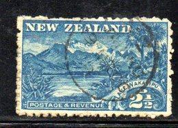 APR1064 - NEW NUOVA ZELANDA 1900 , 2 1/2 P. Usato Yvert 102 Dent  11  Filigrana  NZ/star. - 1855-1907 Colonia Britannica
