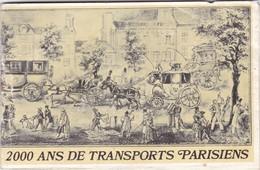 REVUE   ,,,,2000 ANS DE  TRANSPORTS  PARISIENS ,,,, 39 Pages , TRES  ILLUSTREE - Autres