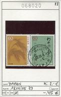 Japan - Japon - Nippon - Michel 1814-1815 - Oo Oblit. Used Gebruikt4 - 1926-89 Emperor Hirohito (Showa Era)