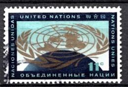 Nations Unies New-York 1961  Mi.Nr: 104 UN-Emblem  Oblitèré / Used / Gebruikt - New-York - Siège De L'ONU