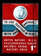 Nations Unies New-York 1961  Mi.Nr: 98 Frieden  Oblitèré / Used / Gebruikt - New-York - Siège De L'ONU