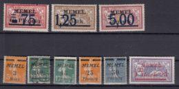 Germany Occupation France, Memel Selection, Mostly Without Gum - Klaipeda