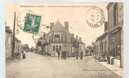 CPA Coudrecieux (72) Carrefour Des Routes De Bouloire Et Saint MICHEL Ecrite En 1910 - France