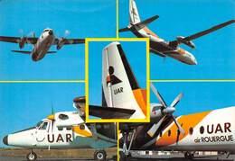 RODEZ - Avions De L'Union Aéronautique Régionale , U.A.R., Air Rouergue - Rodez