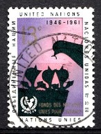 Nations Unies New-York 1961  Mi.Nr: 112 UNICEF  Oblitèré / Used / Gebruikt - New-York - Siège De L'ONU