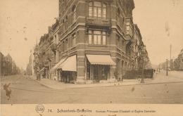 CPA - Belgique - Brussels - Bruxelles - Schaerbeek - Avenues Pricesse Elisabeth Et Eugène Demolder - Schaarbeek - Schaerbeek