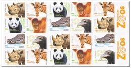 Australië 2012, Postfris MNH, Australian Zoos - Boekjes