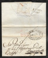 DA RAVENNA A BRISIGHELLA - 6.2.1818. - Italia