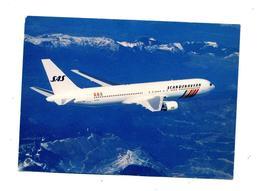 Carte Avion Boeing 767 SAS - 1946-....: Modern Era