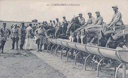 Thèmes > Militaria > Régiment Artillerie L'artillerie A L'abreuvoir - Régiments