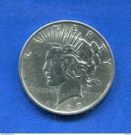 Usa  Dollar  1923 - 1921-1935: Peace (Paix)