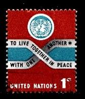 Nations Unies New-York 1965 Mi.Nr: 156 Frieden  Oblitèré / Used / Gebruikt - New-York - Siège De L'ONU