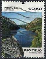 Portugal 2018 Oblitéré Used Paysages Vues Du Rio Tejo Fleuve Tage SU - 1910-... Republik