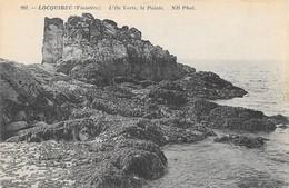 29 Locquirec L'Ile Verte La Pointe (2 Scans) - Locquirec