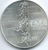 Finland - 10 Markkaa - 1971 - 10th European Athletics Championships - KM52 - Finland
