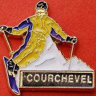 JJ....585........COURCHEVEL......Courchevel, Située à 1747m D'altitude En Savoie - Villes