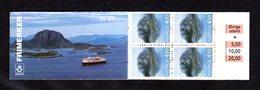 NORVEGE 1995 - CARNET Yvert C1139a - Facit H86b - NEUF** MNH - Réimpression - Tourisme, Le Rocher De Torghatten - Booklets