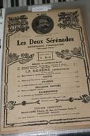 """Partition De """" Les Deux Sérénades"""" - Scores & Partitions"""