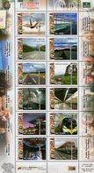 Venezuela - 2006 - National Transportation - Mint Souvenir Sheet - Venezuela