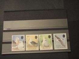 FALKLAND - 1990 ALBATROS  4 VALORI - NUOVI(++) - Falkland
