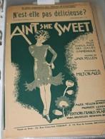 """Partition De """"Ain't She Sweet"""" - Scores & Partitions"""
