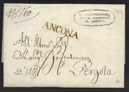 DA ANCONA A PERGOLA - 27.1.1827. - Italy