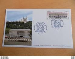 FDC France : Palais De Justice Historique De Lyon 26/10/2012 - FDC