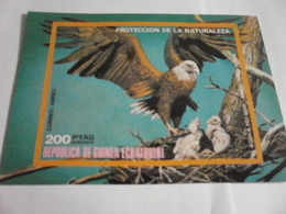 Miniature Sheet Imperf North American Nature Protection - Equatorial Guinea