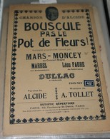 """Partition De """" Bouscule Pas Le Pot De Fleurs"""" - Scores & Partitions"""