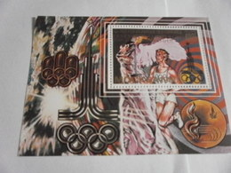 Miniature Sheet Perf Moscow Olympics - Comoros