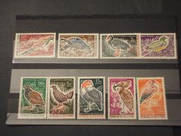 COTE D'IVOIRE - 1965 UCCELLI 5+4 VALORI - NUOVI(++) - Ivory Coast (1960-...)