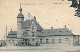 CPA - Belgique - Brussels - Bruxelles - Schaerbeek - La Gare - Schaarbeek - Schaerbeek