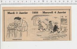 2 Scans Humour Bourreau D'enfant Rouleau à Pâtisserie Martinet Punition Soucoupe Volante Martiens Kiosque à Journaux222H - Vieux Papiers