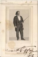 VIOLON . EUGENE TSAYE . 1912 - Autographes