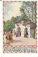 CPA WIEN (AUTRICHE) ERSTE - INTERNATIONALE JAGD-AUSSTELLUNG 1910 - ILLUSTRATEUR H. KALMSTEINER - Vienna
