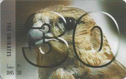 UAE - Etisalat - No30 - Eagle (Type #1), Remote Mem. 30Dhs, Used - Verenigde Arabische Emiraten
