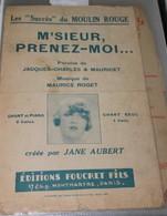 """Partition De """" M'sieur, Prenez Moi..."""" - Scores & Partitions"""
