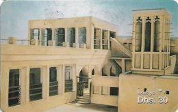 UAE - Etisalat - Old Big House, Remote Mem. 30Dhs, Used - Verenigde Arabische Emiraten