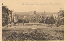 CPA - Belgique - Brussels - Bruxelles - Schaerbeek - Gare De Schaerbeek Et Avenue Huart-Hamoir - Schaarbeek - Schaerbeek