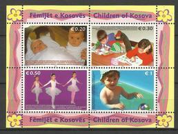 KOSOVO  2006  CHILDREN  SHEET  MNH - Kosovo